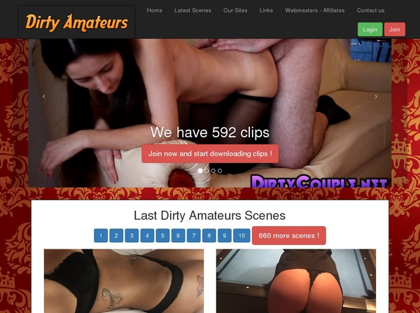 Free Dirtyamateurs Login Account