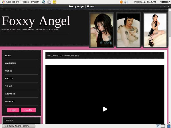 Foxxy-angel.xxx Join By Text Message